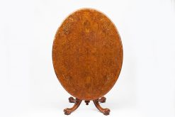 Early 19th Century Regency Tip Up Walnut Dining Table