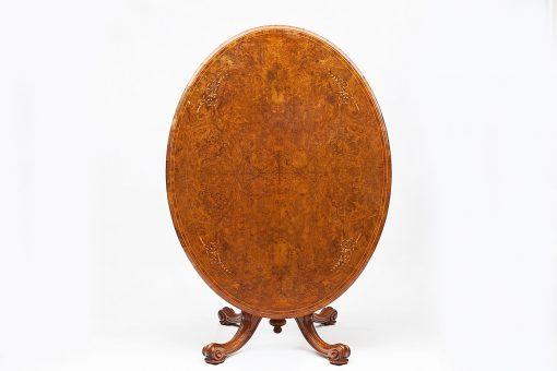 Early 19th Century Regency Tip Up Walnut Dining Table