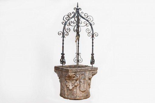 17th Century Italian Stone Wellhead