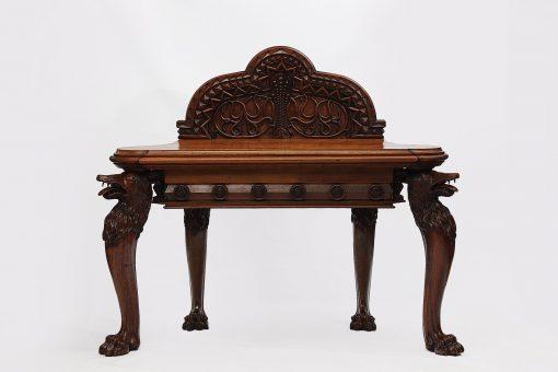 19th Century Irish Regency Walnut Side Table