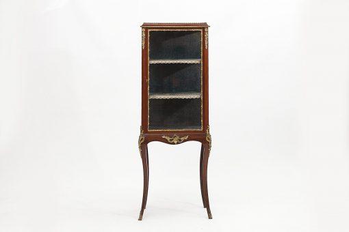 19th Century Regency Mahogany Vitrine Cabinet
