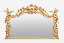 9834 - 18th Century Giltwood Mirror after Chippendale