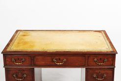18th Century George III Mahogany Pedestal Desk