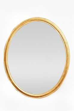 9844 – Early 19th Century Georgian Large Oval Mirror