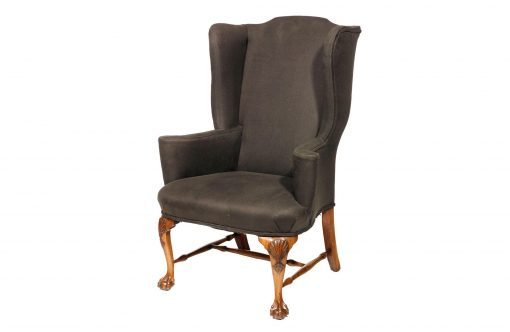 19th Century Georgian Wing Chair