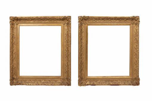 Early 19th Century Pair of Irish Portrait Frames
