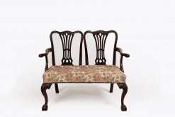Early 19th Century Mahogany Chair Back Settee