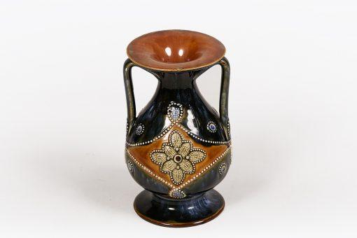 19th Century Royal Doulton Lambeth Stoneware Vase