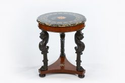 19th Century Regency Marble Topped Circular Centre Table