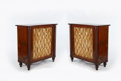 19th Century Pair of Mahogany Chiffonieres