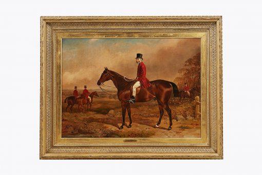 William Osborne RHA (Irish 1823-1901). A Portrait of John Gregson