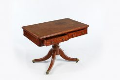 19th Century Mahogany Library Table