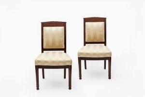 19th Century Pair of Biedermeier Chairs