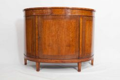19th Century  Demilune Satinwood Commode