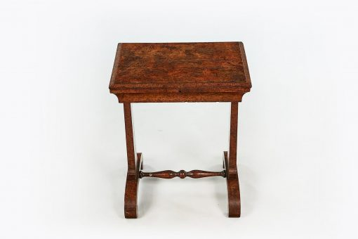 10027 - 19th Century Burr Elm Work Table