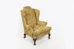 Early 18th Century Irish Mahogany Wing Chair