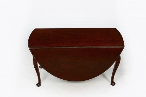 10150 - Early 19th Century George III Flame Mahogany Drop Leaf Table