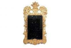 18th Century Irish George II Gilt Pier Mirror