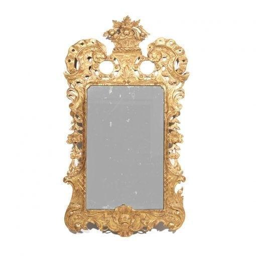18th Century Irish George II Gilt Pier Mirror