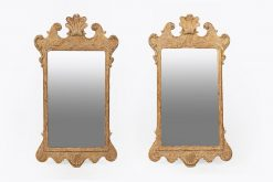 10183 - 18th Century George II Irish Pair of Pier Mirrors