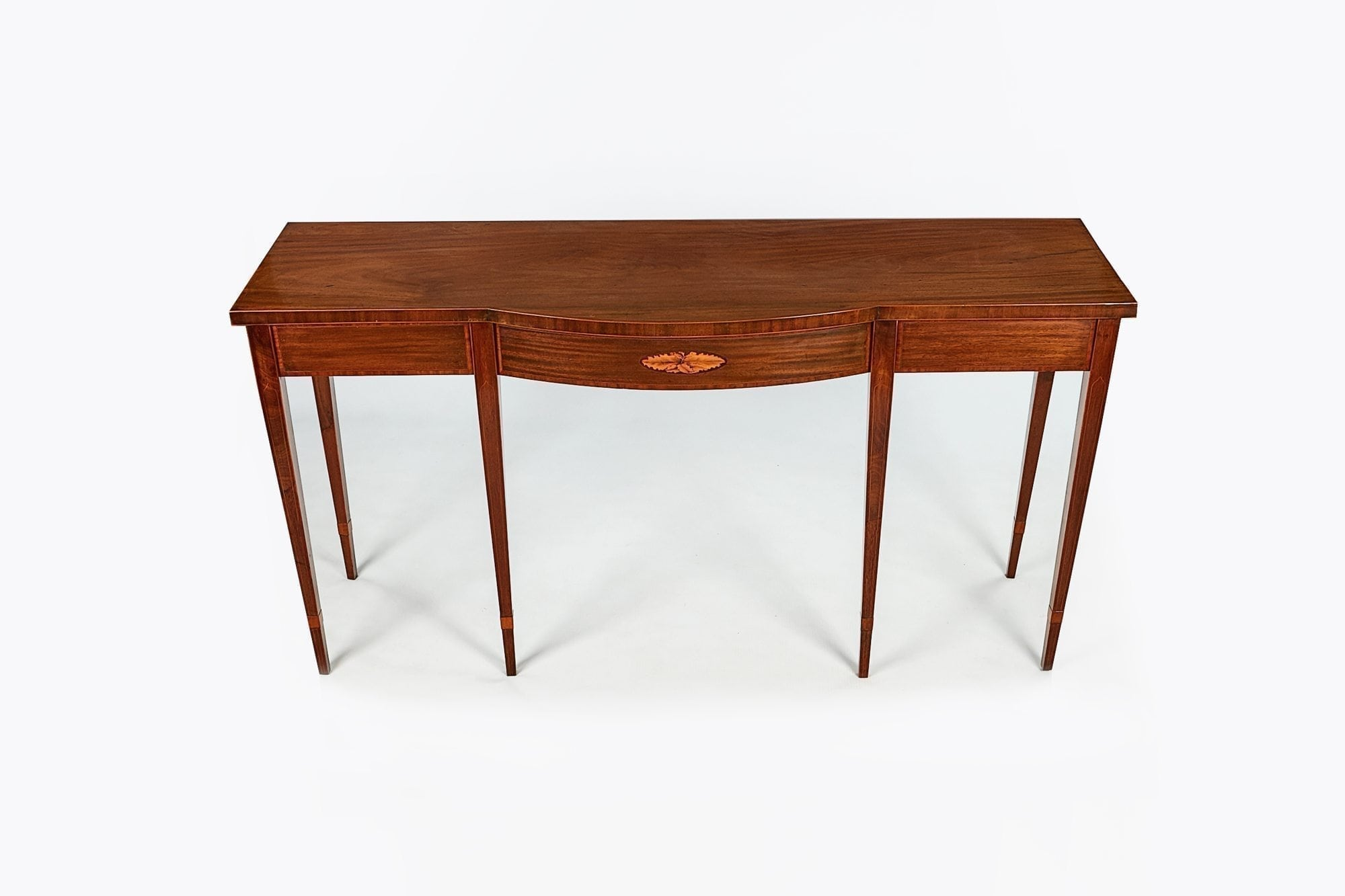 Exceptionnel 10204   Early 19th Century Regency Satinwood Side Table After Adams