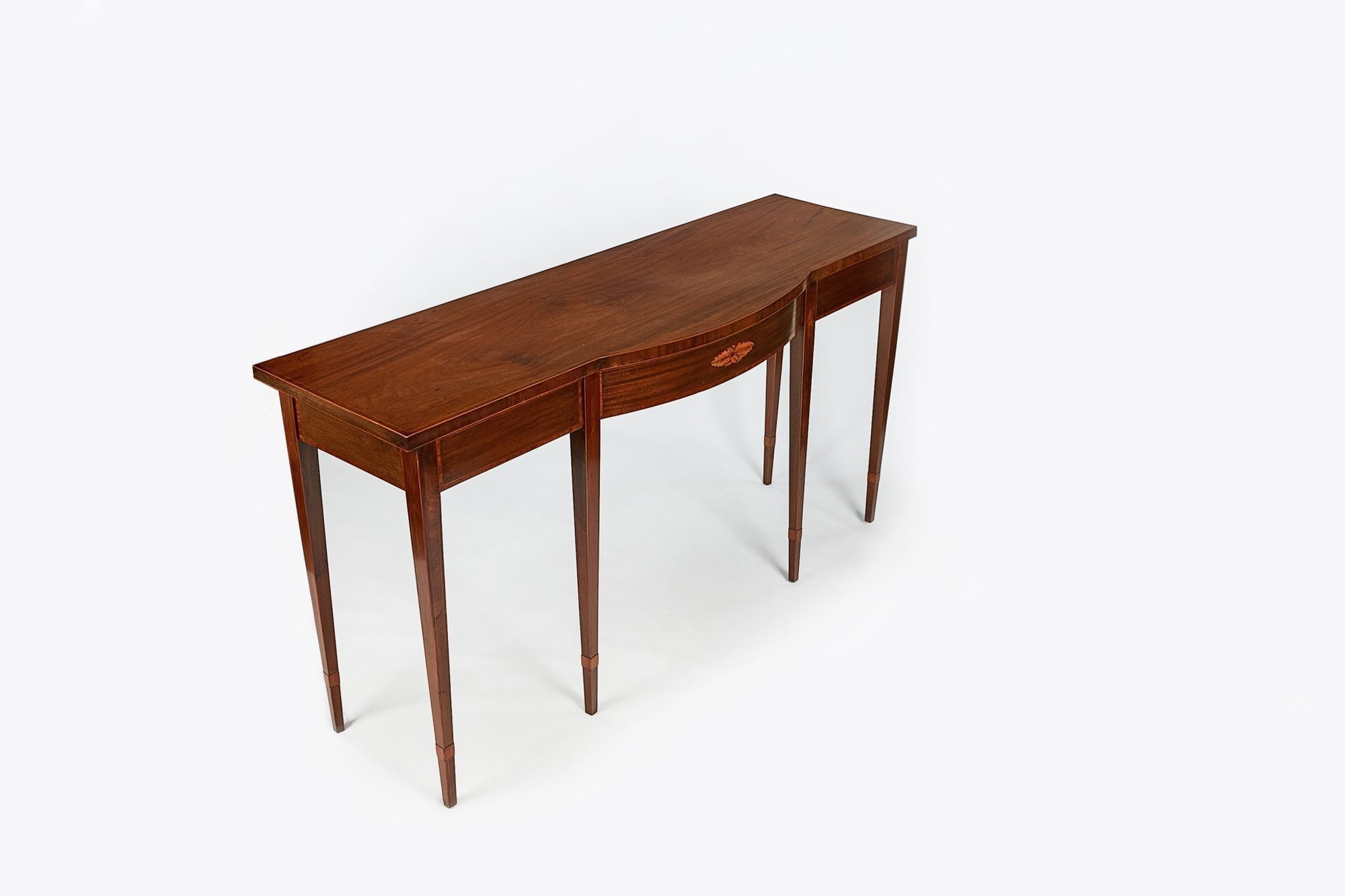 ... 10204   Early 19th Century Regency Satinwood Side Table After Adams
