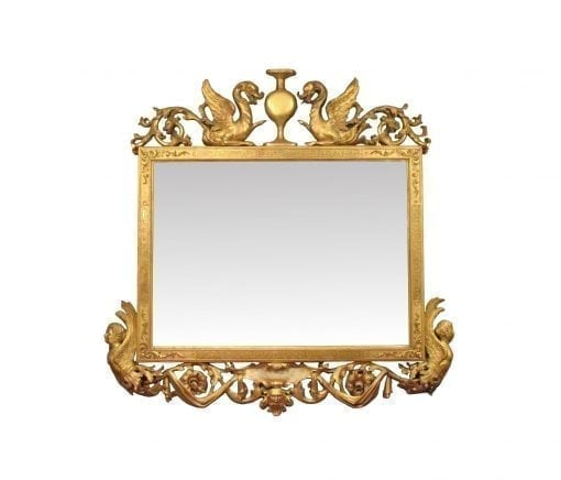 19th Century Regency Mirror in the manner of Thomas Hope