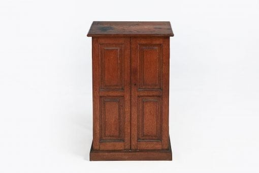 10248 - 19th Century Oak Coin Cabinet