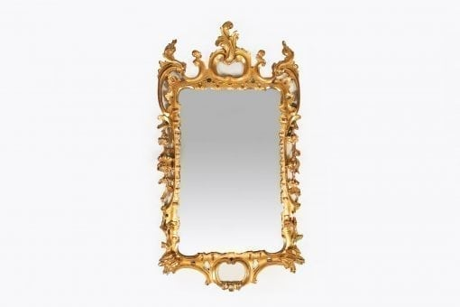 10268 - Early 19th Century William IV Water Gilded Mirror
