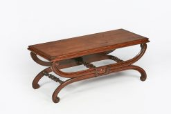 10064 - Early 19th Century Regency Mahogany Bench