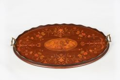 10224 - 19th Century Inlaid Mahogany Tray