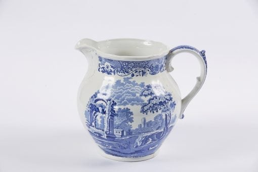 9823 - 19th Century Spode Earthenware Blue and White Jug