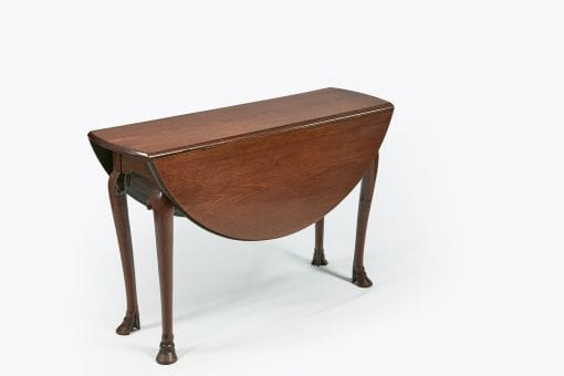 10241 - 18th Century George II Irish Mahogany Drop Leaf Table