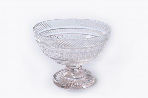 10072 - Early 19th Century William IV Crystal Cut Glass Bowl