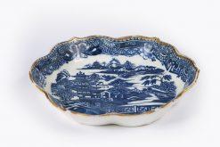 10173 - Late 17th Century Kangxi, Qing dynasty Nanjing Porcelain Teapot Stand