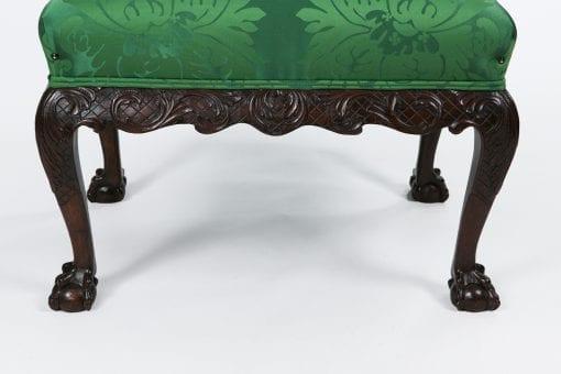10328 - Early 19th Century George III Mahogany Stool