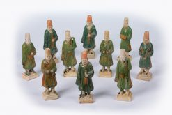 10386 - Collection of Ten Ming Dynasty Burial Figures
