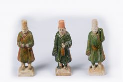 q10386 - Collection of Ten Ming Dynasty Burial Figures