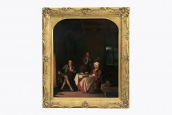 9278 - William Gillard (British, Fl. 1831 - 1879) 'Close By The Window'.