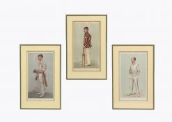 9923 - 19th Century Set of Three Vanity Fair 'Spy' Chromolithographs