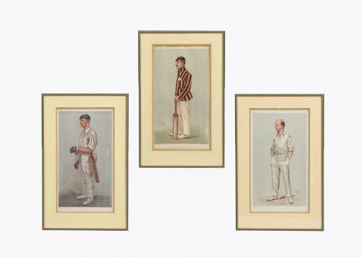 9923 - 19th Century Set of Three Vanity Fair 'Spy' Chromolithographs