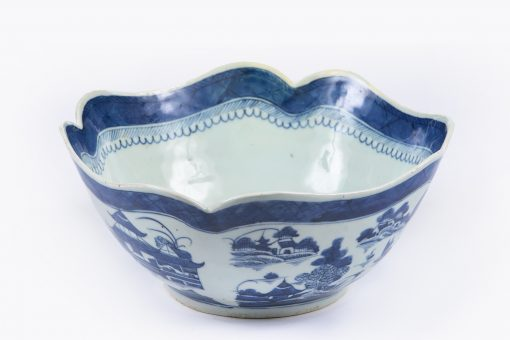 10158 - Early 19th Century Jiaqing Qing Dynasty Nanjing Bowl