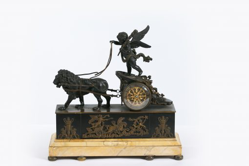 10355 - 19th Century Bronze Empire Clock