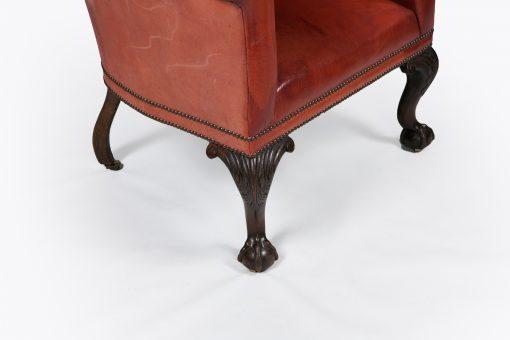 10376 - 18th Century George III Wing Chair