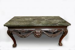 10131 - Early 19th Century Irish Table with Green Connemara Marble Top