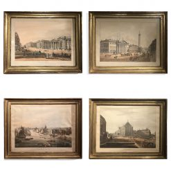 10415 - Early 19th Century Set of Four Coloured Aquatint Prints after Thomas Sautelle Roberts, Engraved by R. Havell and Sons