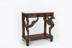 10416 - Early 19th Century Console Table with Marble Top