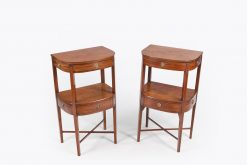 10453 - Early 19th Century Regency Pair of Lockers after Hepplewhite