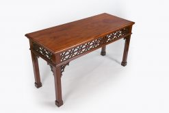 10487 - Early 19th Century George III Side Table after Chippendale