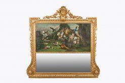 10495 - 19th Century Giltwood Trumeau Mirror